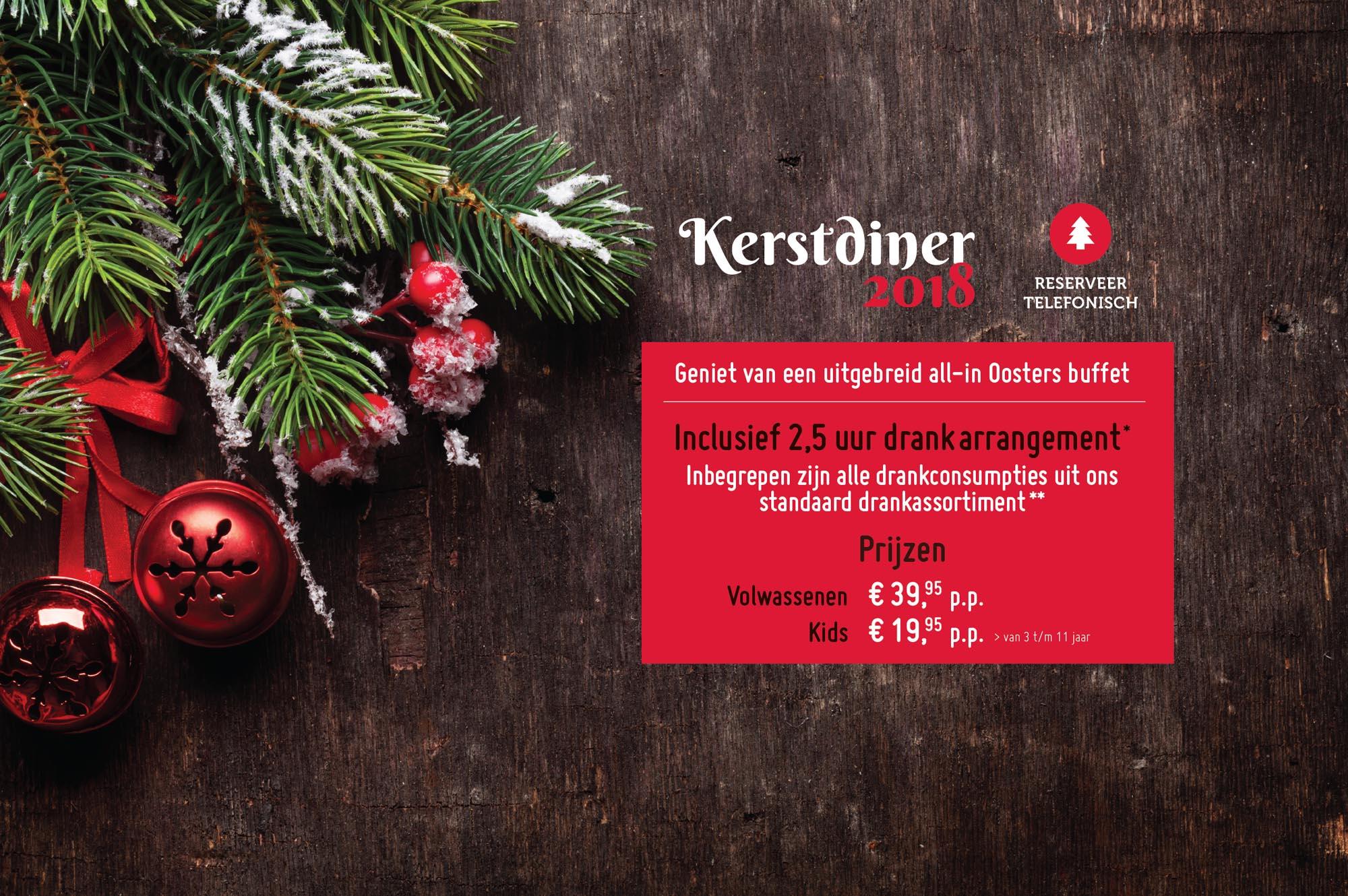 Kerstmenu 2018 Breda