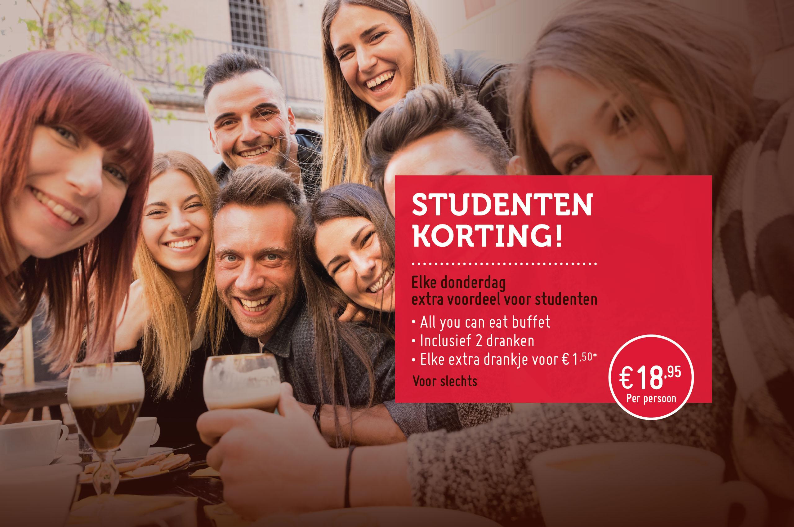 Studenten voordeel restaurant